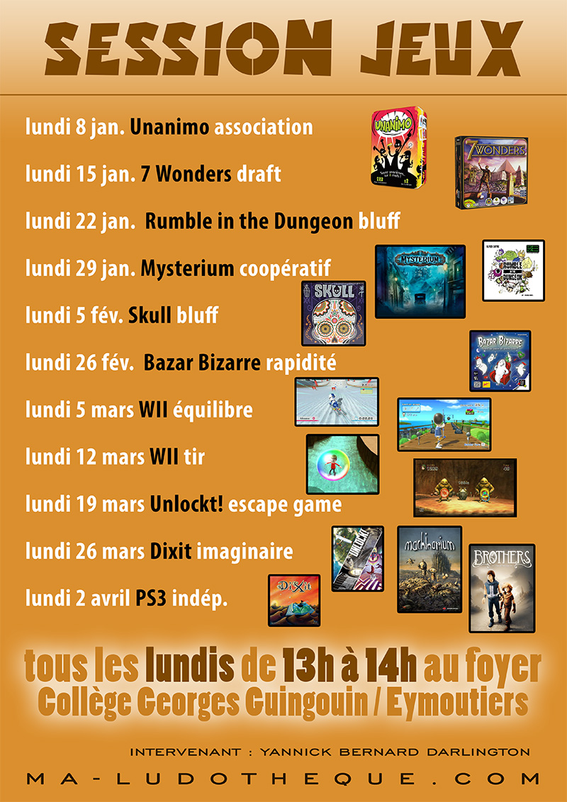 affiche session jeux 2018 tri 2