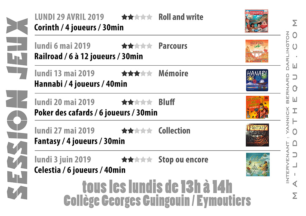 affiche session jeux 2019 5