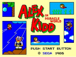 Alex Kidd in Miracle World Image 1